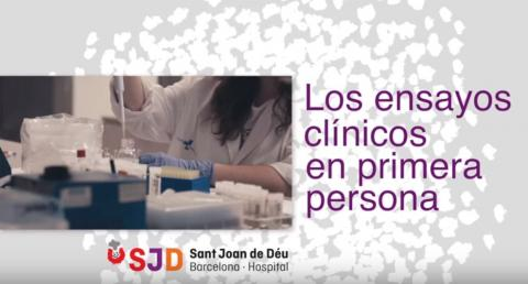 Los ensayos clínicos en primera persona